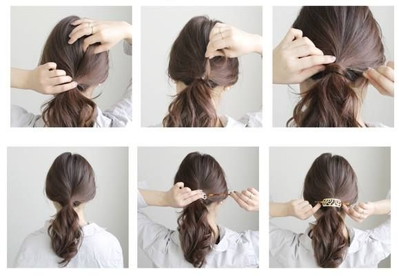218 best coiffures images on pinterest hair dos amazing hairstyles and beleza - Coiffure pour communion ...