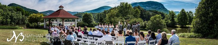 This panoramic shot of the gazebo wedding area on Lake Lure is from a wonderful wedding there at the end of May 2016. Open it in a new tab to see the whole thing- the full file will print at 72 inches wide! I loved shooting Jourdan & Jimmy's wedding, and I can't wait to work at the 1927 Lake Lure Inn again soon!
