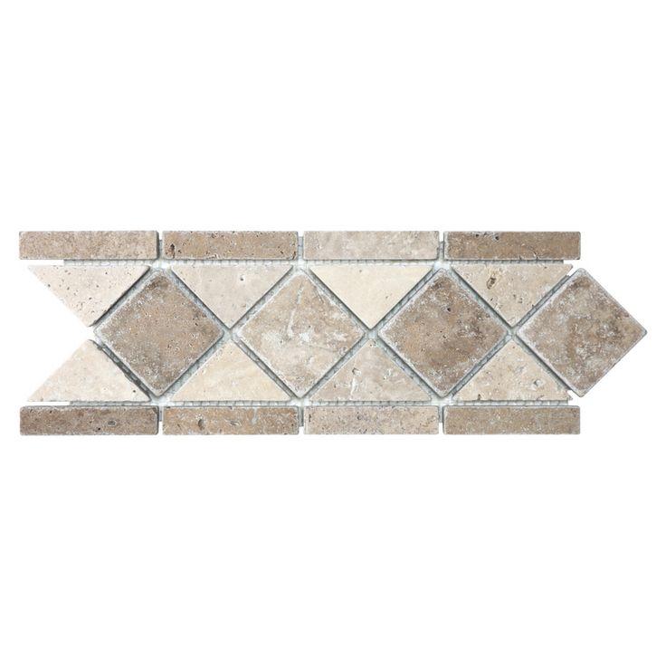 Anatolia Tile Noce And Chiaro Travertine Travertine
