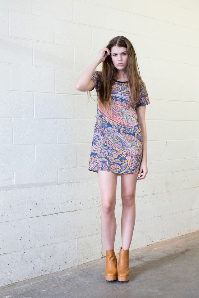Brooke tyson Wild rag dress