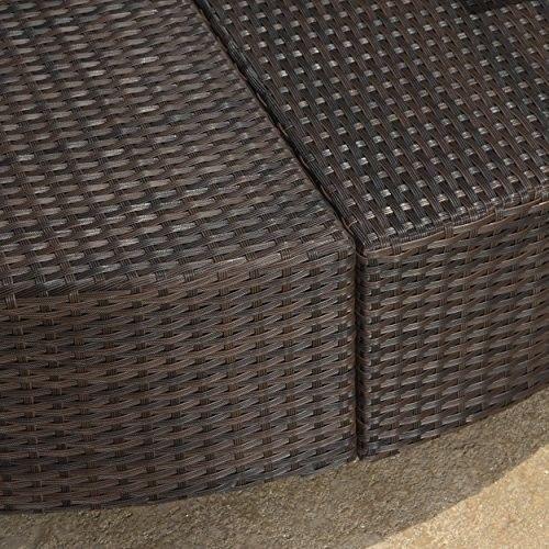 Furniture Patio Garden 12pcs Outdoor Sofa Set Brown Wicker with Cushions NEW #FurniturePatioGarden