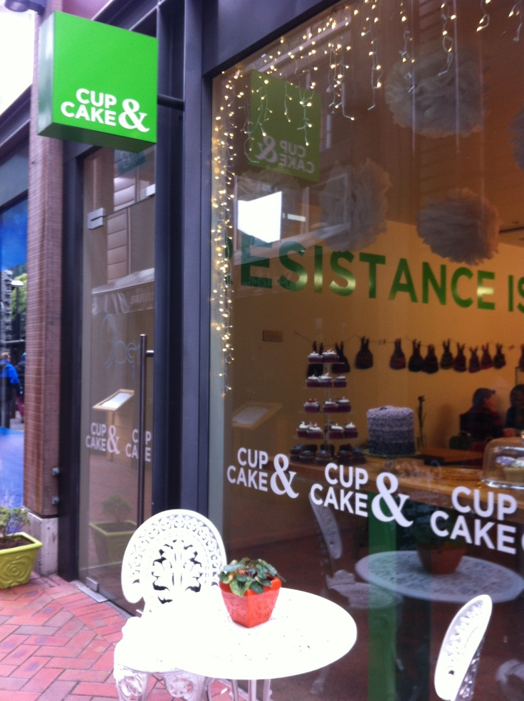 Resistance really IS futile at the Cup&Cake in Queenstown NEw ...
