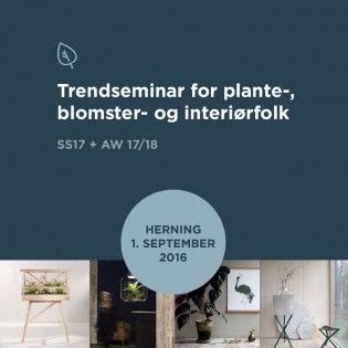 Plante trendseminar - Herning 1. september - pej gruppen