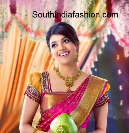 puff sleeves blouse fro pattu saree