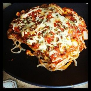 Low Carb Baked Spaghetti (Gluten Free)