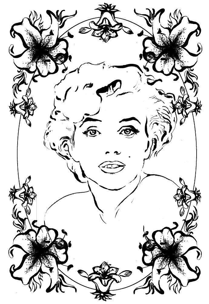 Yarra искусство иллюстрации раскраски взрослым