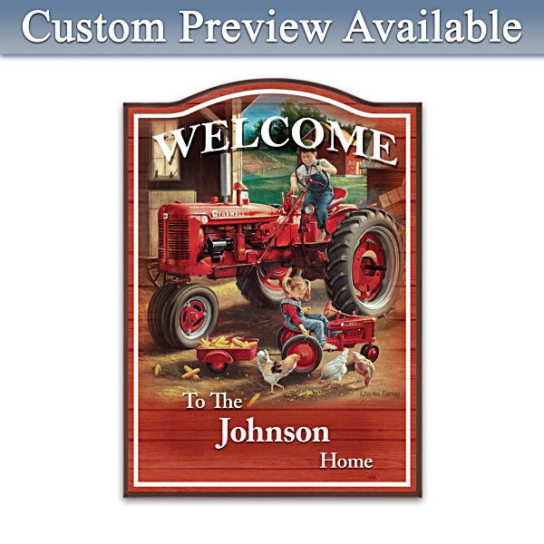 74 best farmall images on pinterest farmall tractors for International harvester wall decor