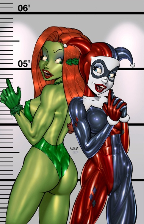 Harley Quinn and Poison Ivy ..Charlies Angels | Harley ...