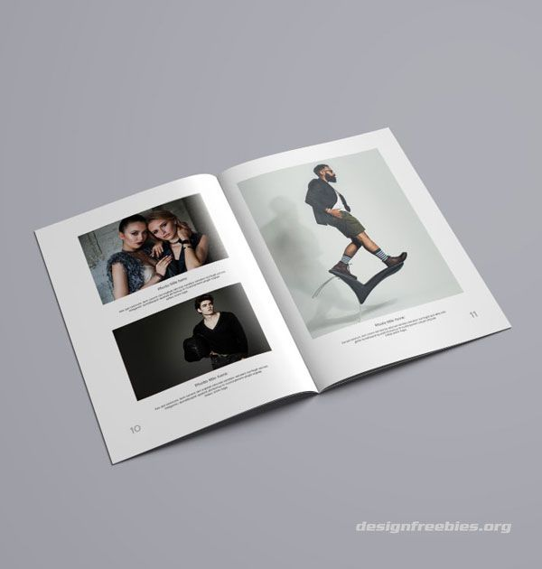 Photography Portfolio Template: Free InDesign Portfolio Template
