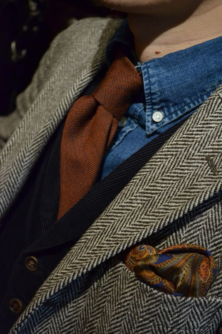 I know I could pull off the blazer. But the paisley pocket handkerchief?