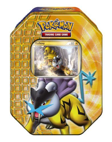 Pokémon Trading Card Game 2010 Holiday Tin - Raikou Pokemon Center http://www.amazon.com/dp/B00439GWO2/ref=cm_sw_r_pi_dp_Qix9tb1AFKZTW