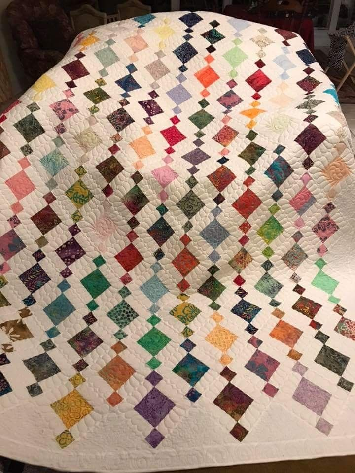 Like the quilting  Quilting  Quilts Charm square quilt Quilt patterns