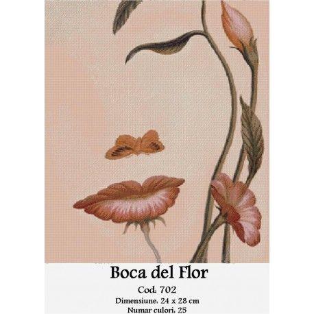 Goblen Boca del Flor http://set-goblen.ro/flori/3964-boca-del-flor.html