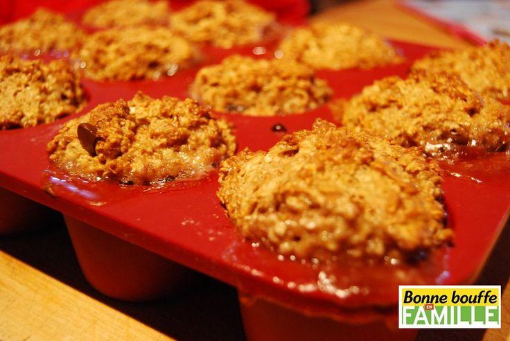 Des muffins à l'avoine