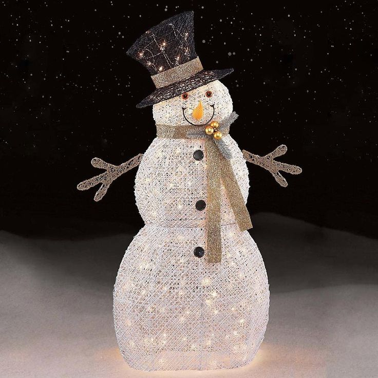 Outdoor Snowman Lights 180 best future ideas for outdoor christmas images on pinterest amazon 48 150ct white snowman toys games workwithnaturefo
