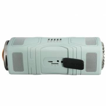 Mountaineering LED Flashlight Carabiner Waterproof Dust-proof 2200mAh Portable Bluetooth Speaker Sale-Banggood.com