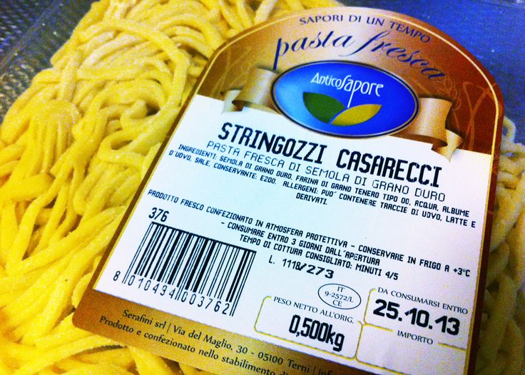 Stringozzi of #Umbria #pasta