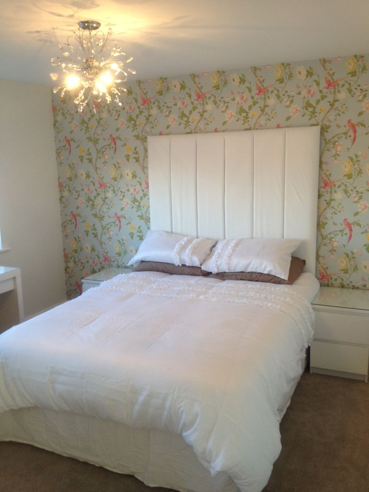 Laura ashley summer palace birds pink and duck egg modern for Duck egg bedroom ideas