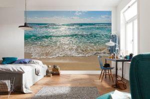 Wall Mural Beach Scene