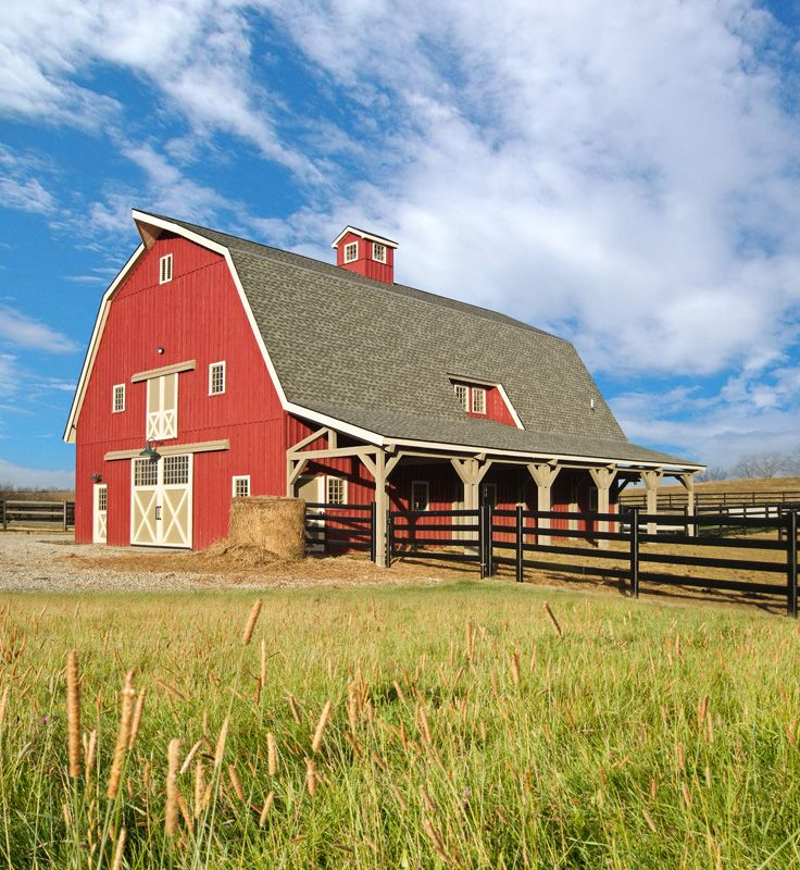 29 best gambrel barn plans images on pinterest barn for Gambrel barn prices
