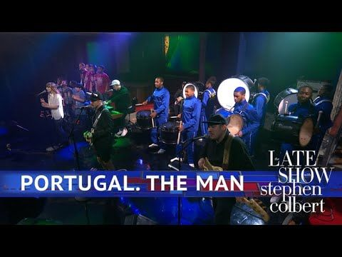 Portugal The Man Performs Live In The Moment Musica Show