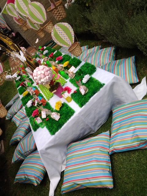 Magical garden adult carnival birthday party ideas gardens birthday party ideas and parties - Carnival theme party for adults ...