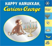 Even Curious George celebrates Hanukkah. What trouble did he get into this time? #indigo #magicalholiday