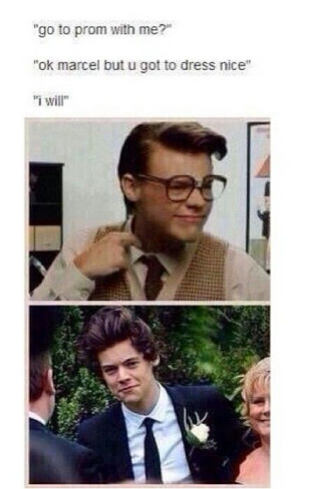 Harry marcel one direction