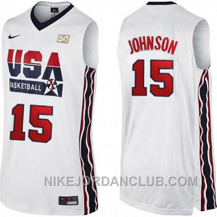 ae6c0f8f3 ... Find Authentic Magic Johnson 1992 USA Dream Team White Jersey online or  in Footseek.