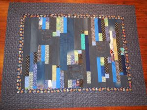 Country Denim Quilt Pattern | FaveQuilts.com     blue jean quilt