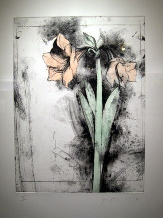 Jim Dine. i choose this picture because it stood out to me and the colours are quite faded which creates effect.