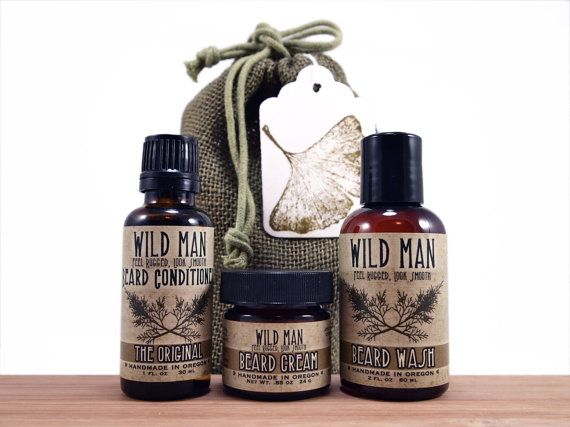 mens beard grooming gift set three pack beard oil conditioner wash cream man beard beard. Black Bedroom Furniture Sets. Home Design Ideas