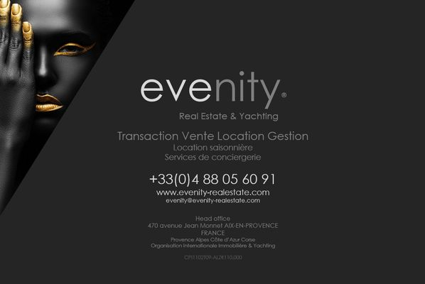 Evenity Real Estate Yachting Transaction Vente Location Gestion locative