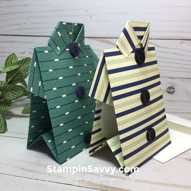 For Father's Day: Mens Gift Card Holder With Video Tutorial