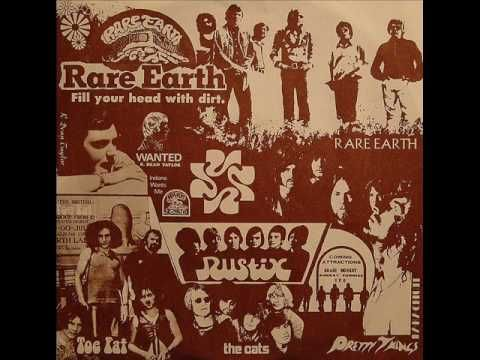 "▶ Rare Earth - ""Smiling Faces""  [Rare Earth is an American blues rock band affiliated with Motown's Rare Earth record label (named after the band), which prospered from 1970–1972. Although not the first white band signed to Motown, Rare Earth was the first big hit-making act signed by Motown that consisted only of white members.] `j"