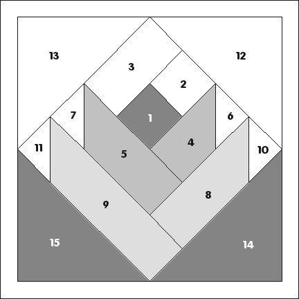 Rose 1 - PP2000 Printable Pattern
