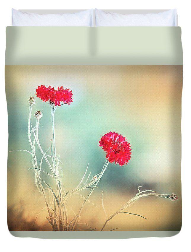 Duvet Cover featuring the photograph Summer Scent by Larysa Koryakina  #HomeIdeas #LarysaKoryakinaFineArtPhotography #DuvetCover #BedroomIdeas #ArtForHome #interiordesing #artforsale #cover #bed #bedroom
