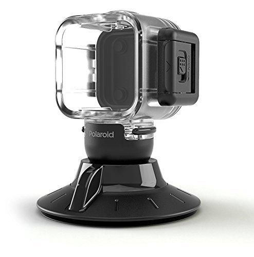 Polaroid Suction Cup Mount for the Polaroid CUBE CUBE HD Action Lifestyle Camera - Includes Waterproof Case
