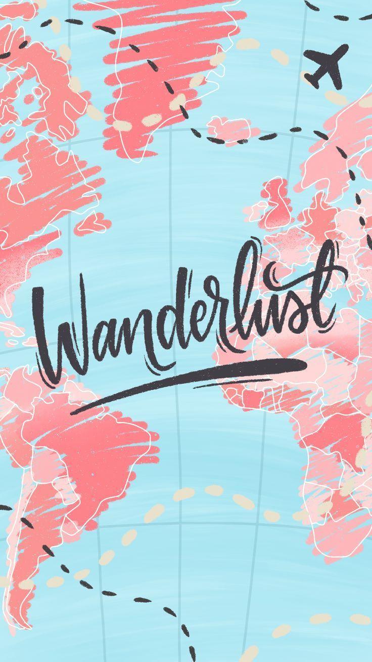 Wanderlust Wallpaper By Gocase Wallpaper Travel Travel Map Road Airplane Iphone Wallpaper Travel Travel Wallpaper Iphone Wallpaper Vintage