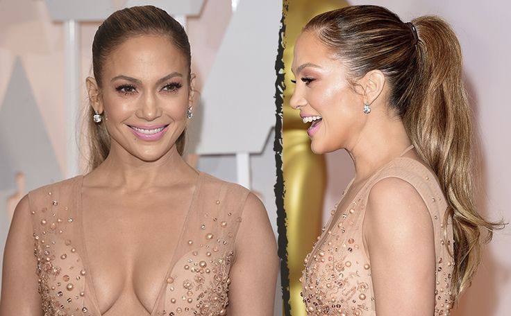 BEST PONYTAILS DE GEPOLIJSTE J-LO Jennifer Lopez haar strakke, hoge paardenstaart was één van onze eyecatchers bij de Oscars dit jaar. Subtiel, niet te aanwezig, waardoor de focus op haar prachtige karakteristieke glow en Ellie Saab jurk lag.