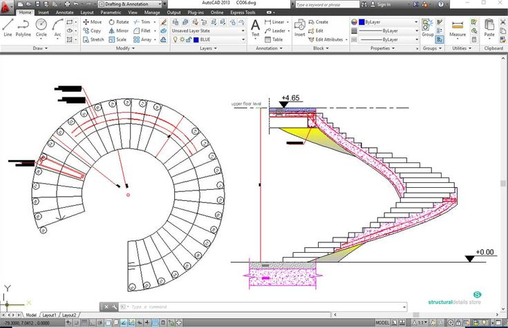 Best Reinforced Concrete Spiral Helical Staircases 400 x 300