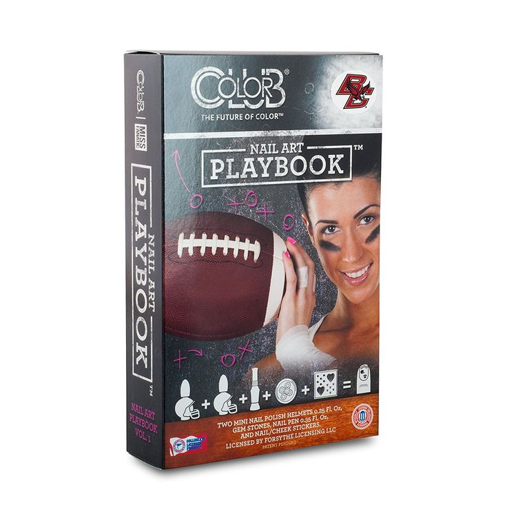 BOSTON COLLEGE EAGLES PLAYBOOK NAIL ART KIT-BOSTON COLLEGE NAIL POLISH AND NAIL ART KIT -- You can find out more details at the link of the image.