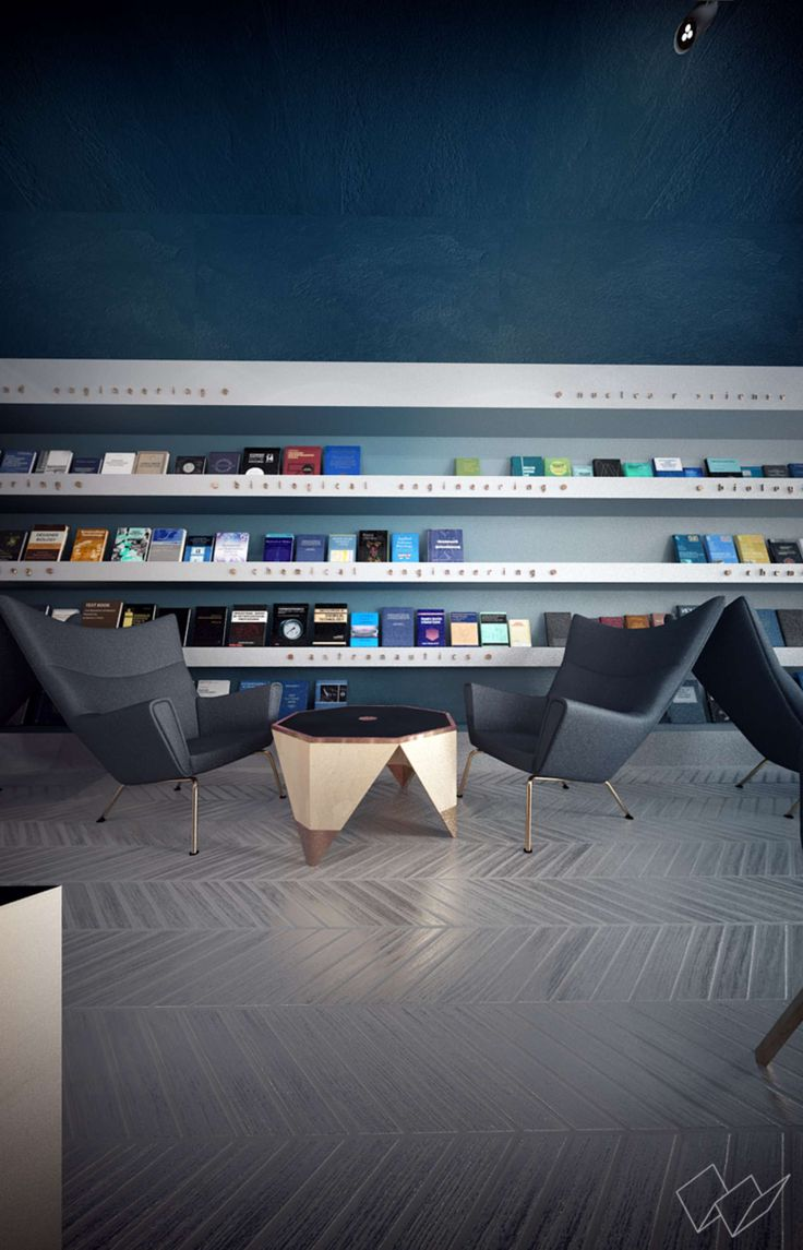 Science Cafe-Library by Anna Wigandt