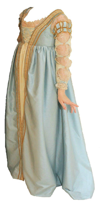 Lucrezia Borgia Style Dress