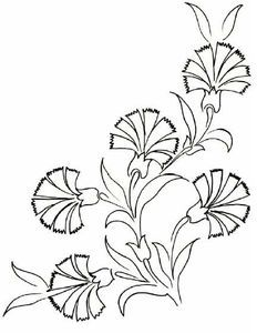 flower and leaves embroidery patterns - Google Search