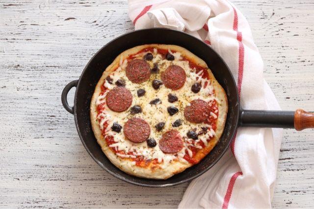 mutfakta Feyza var: Tavada Kolay Pizza