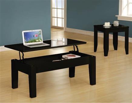 Gideon Black Coffee Table Set