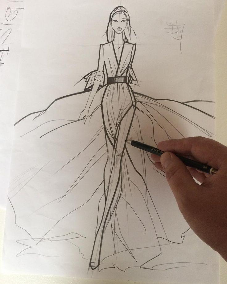 fashion illustration by Dimitri Jelezky #fashionblogger #fashionillustration #fashiondrawing #插画
