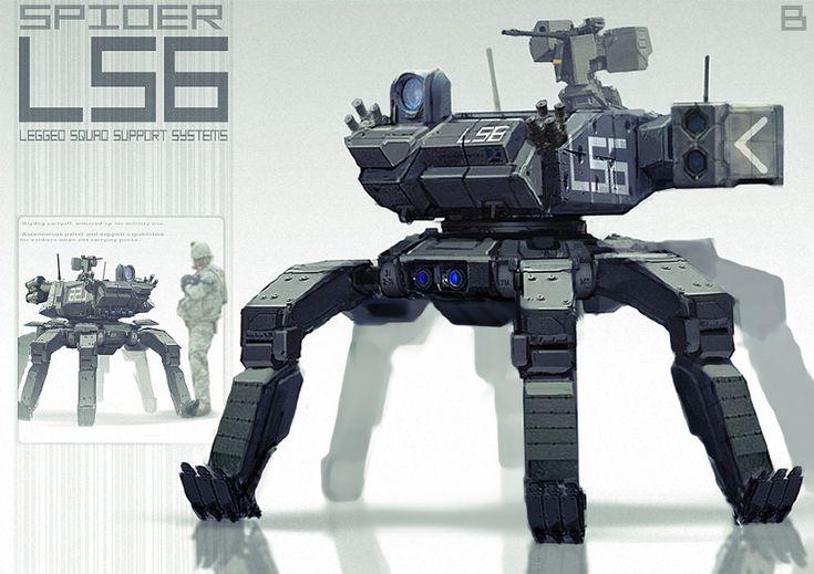 Robotics/Weapons - www.artofben.com