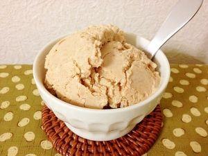 楽天が運営する楽天レシピ。ユーザーさんが投稿した「豆腐de☆きな粉アイス」のレシピページです。【水切りなし豆腐】 豆腐ときな粉で\(^▽^)/シャリ!ねっとり!濃厚アイス。豆腐感なしの超ほっこり和風アイスです。全部のカロリーは425.4kcalでした。。木綿豆腐,★きな粉,★三温糖,★塩